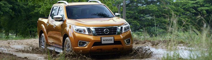 Противоугонный блокираторы КПП на Nissan Navara