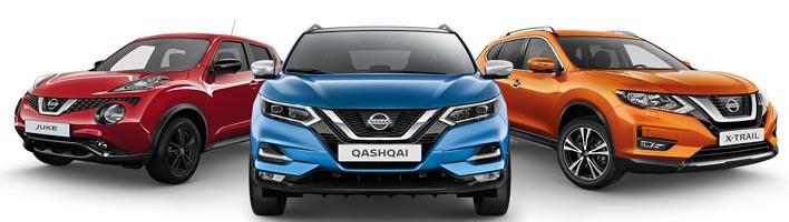 Construct на актуальный модельный ряд Nissan